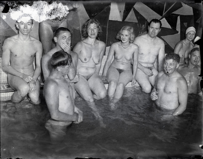 Nudist colony picts